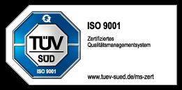 ISO_9001 Logo TÜV